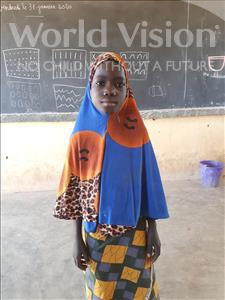 Choose a child to sponsor, like this little girl from Komabangou, Sarifa age 8
