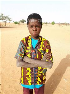 Choose a child to sponsor, like this little boy from Komabangou, Nouhou age 9