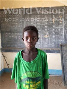 Choose a child to sponsor, like this little boy from Komabangou, Aboubacar age 8