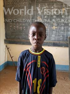 Choose a child to sponsor, like this little boy from Komabangou, Nouhou age 8