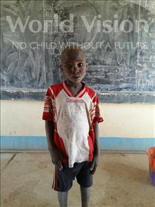Choose a child to sponsor, like this little boy from Komabangou, Abdouzakou age 8