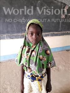 Choose a child to sponsor, like this little girl from Komabangou, Faiza age 8