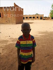 Choose a child to sponsor, like this little boy from Komabangou, Zilkifili age 9