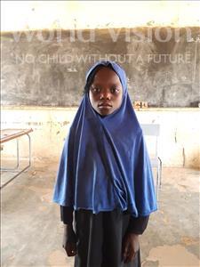 Choose a child to sponsor, like this little girl from Komabangou, Fatouma age 8