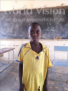 Choose a child to sponsor, like this little boy from Komabangou, Souley age 8