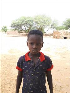 Choose a child to sponsor, like this little boy from Komabangou, Akilou age 9