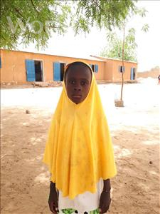 Choose a child to sponsor, like this little girl from Komabangou, Malika age 9