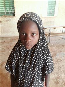 Choose a child to sponsor, like this little girl from Komabangou, Oumou age 9