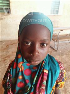 Choose a child to sponsor, like this little girl from Komabangou, Faouzia age 9