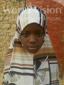Choose a child to sponsor, like this little girl from Komabangou, Aminatou age 12