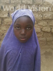 Choose a child to sponsor, like this little girl from Komabangou, Zeinabou age 8