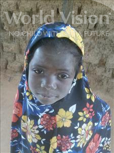 Choose a child to sponsor, like this little girl from Komabangou, Haoussatou age 6