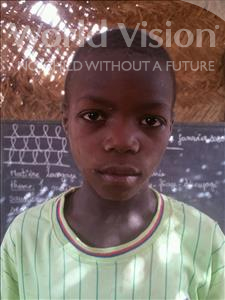 Choose a child to sponsor, like this little boy from Komabangou, Abdoullay age 7