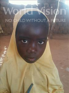 Hadietou, aged 7, from Niger, is hoping for a World Vision sponsor