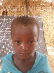Choose a child to sponsor, like this little boy from Komabangou, Loukmane age 9