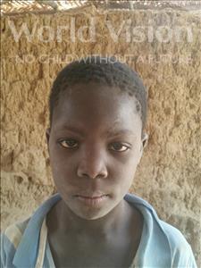 Choose a child to sponsor, like this little boy from Komabangou, Boukari age 7