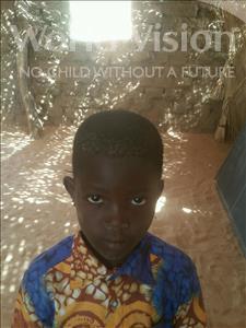 Choose a child to sponsor, like this little boy from Komabangou, Zoubeirou age 7