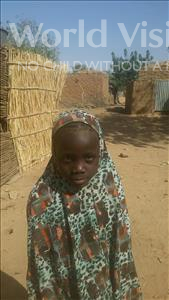 Choose a child to sponsor, like this little girl from Komabangou, Zalika age 6