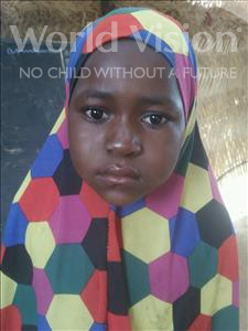 Sofia, aged 6, from Niger, is hoping for a World Vision sponsor