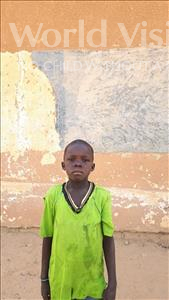 Hamza, aged 6, from Niger, is hoping for a World Vision sponsor