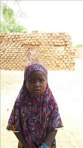 Samsiya, aged 5, from Niger, is hoping for a World Vision sponsor