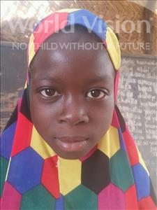 Housseina, aged 7, from Niger, is hoping for a World Vision sponsor