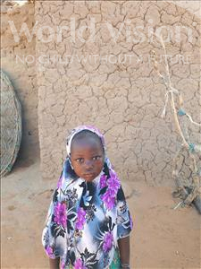 Choose a child to sponsor, like this little girl from Komabangou, Hafsetou age 6