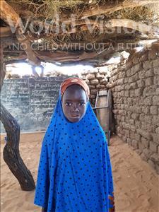 Choose a child to sponsor, like this little girl from Komabangou, Salamatou age 7