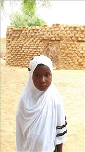 Choose a child to sponsor, like this little girl from Komabangou, Oubeida age 6