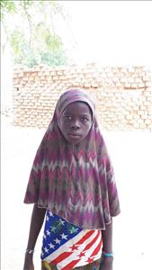 Barila, aged 10, from Niger, is hoping for a World Vision sponsor