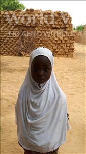 Choose a child to sponsor, like this little girl from Komabangou, Oumou age 6