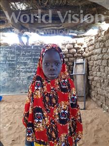 Choose a child to sponsor, like this little girl from Komabangou, Aissa age 7