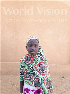Aissata, aged 8, from Niger, is hoping for a World Vision sponsor