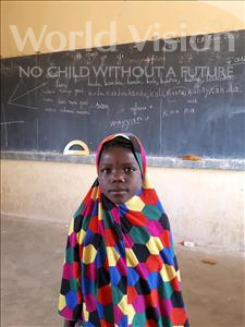 Choose a child to sponsor, like this little girl from Komabangou, Bibata age 7