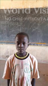 Choose a child to sponsor, like this little boy from Komabangou, Oufou age 6