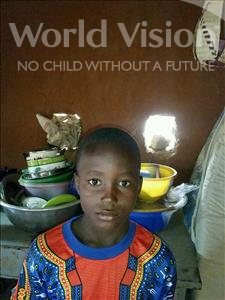 Choose a child to sponsor, like this little boy from Komabangou, Abdoulkader age 10