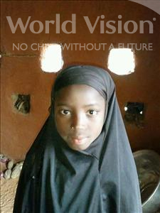 Choose a child to sponsor, like this little girl from Komabangou, Charifa age 11