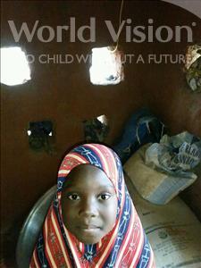 Choose a child to sponsor, like this little girl from Komabangou, Sadiya age 5