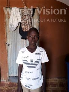 Choose a child to sponsor, like this little boy from Komabangou, Djibo age 11