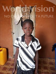 Choose a child to sponsor, like this little boy from Komabangou, Seidou age 6
