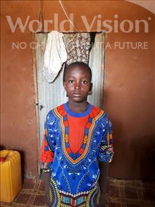 Choose a child to sponsor, like this little boy from Komabangou, Abdoulkader age 7