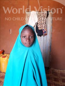 Choose a child to sponsor, like this little girl from Komabangou, Mariama age 7
