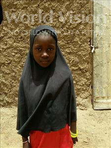 Choose a child to sponsor, like this little girl from Komabangou, Roukaiya age 6