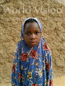 Mariama, aged 6, from Niger, is hoping for a World Vision sponsor