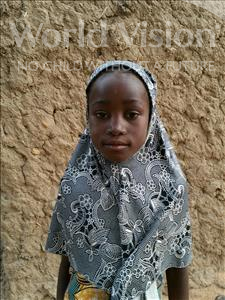Choose a child to sponsor, like this little girl from Komabangou, Nadia age 5
