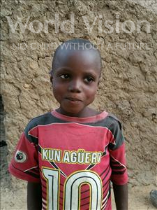 Choose a child to sponsor, like this little boy from Komabangou, Faycal age 5