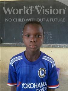 Choose a child to sponsor, like this little boy from Komabangou, Nazifou age 10