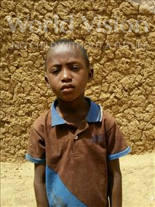 Choose a child to sponsor, like this little boy from Komabangou, Ismael age 6