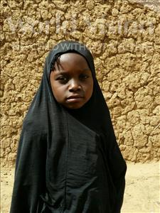 Choose a child to sponsor, like this little girl from Komabangou, Kadidja age 6