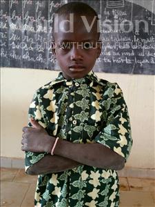 Choose a child to sponsor, like this little boy from Komabangou, Hamza age 6